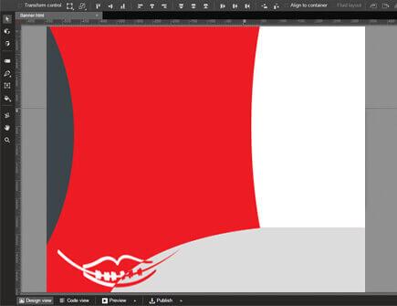 Banner készítés 2. lépés